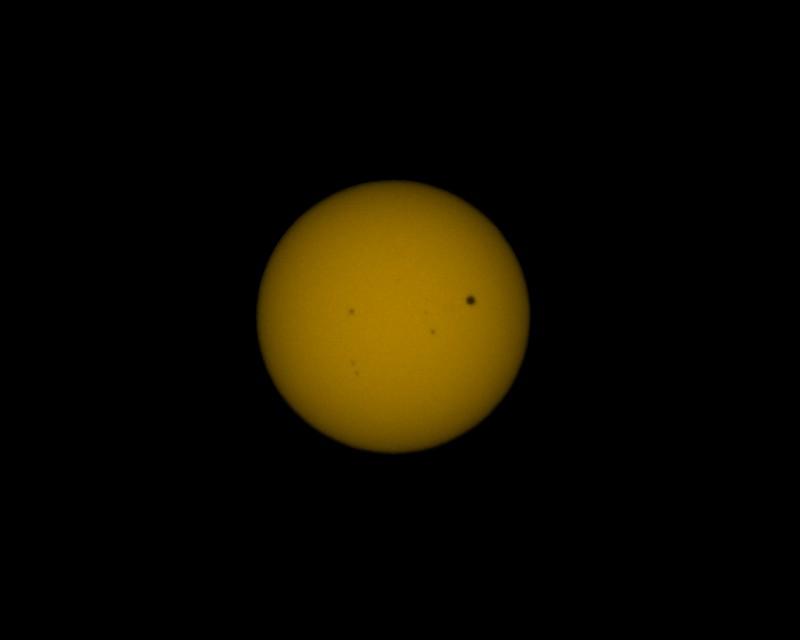 Transit of Venus, 2012