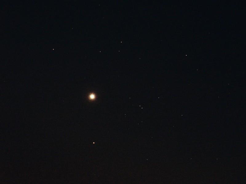 Venus and Hyades