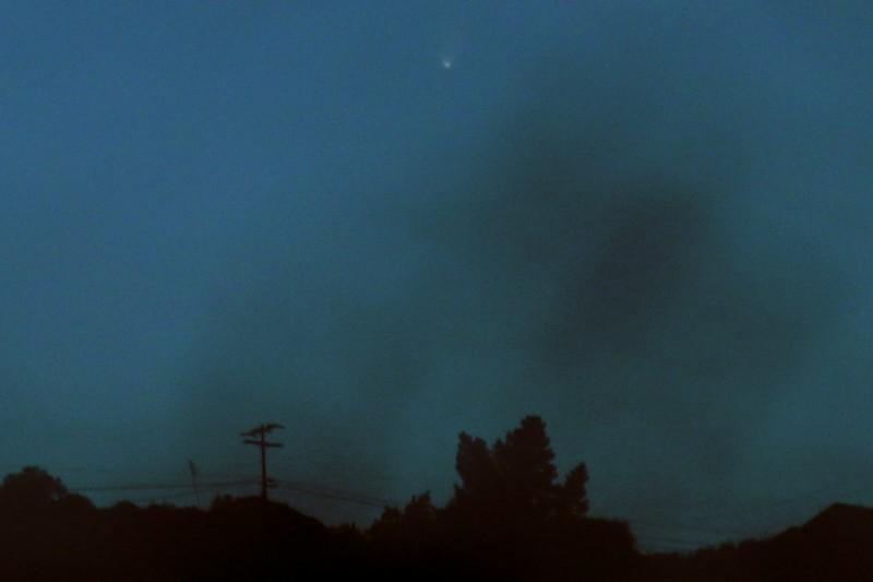 PANSTARRS Over Santa Ana Mtns.