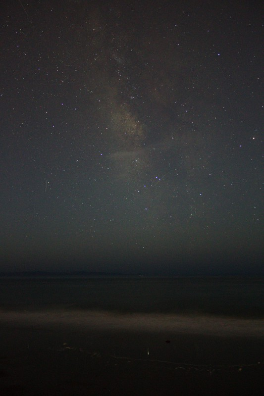 Milky Way Over Channel Islands