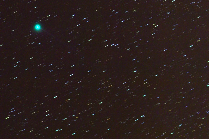 Comet Jacques and Faint 1 Degree Tail