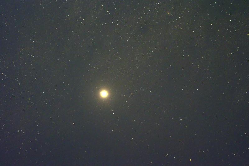 Mars + Comet