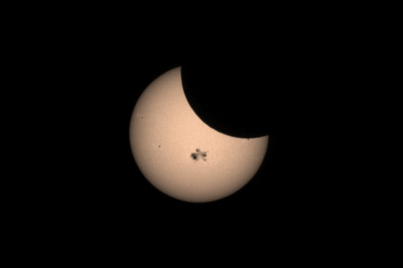October, 2014 Partial Solar Eclipse